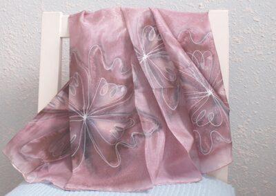Ručně malované hedvábí